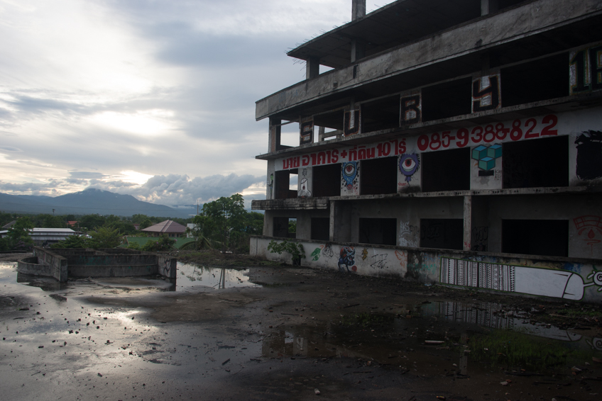 abandoned buildings in chiang mai