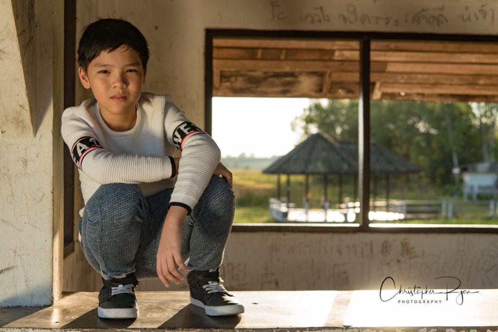 Mungkorn Danviboon fashion model