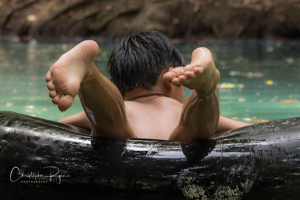 boy barefeet showing bottom of feet