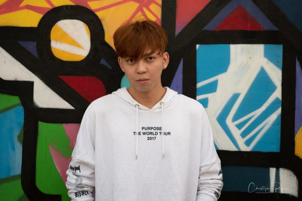 cute Thai teen pop singer